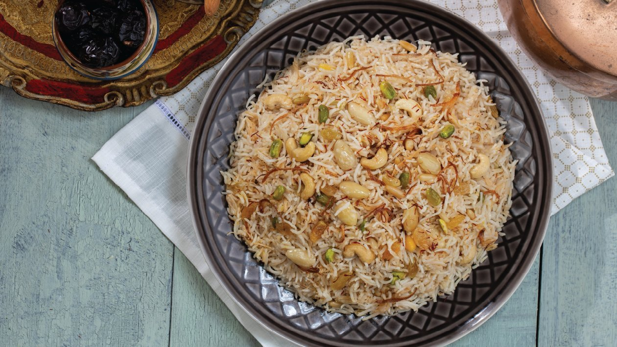 Basmati Rice Pulao Recipe