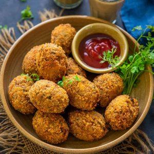 Tandoori Chicken Cutlets Recipe